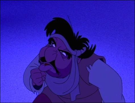 """Comment s'appelle ce personnage dans """"Aladdin"""" ? (novembre 1992)"""