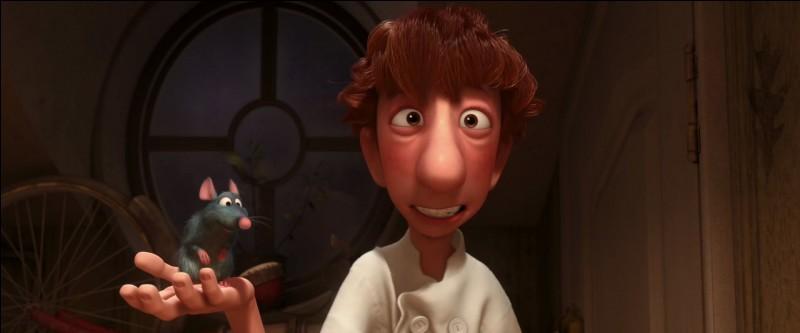 """Comment s'appelle ce personnage dans """"Ratatouille"""" ? (juillet 2007)"""