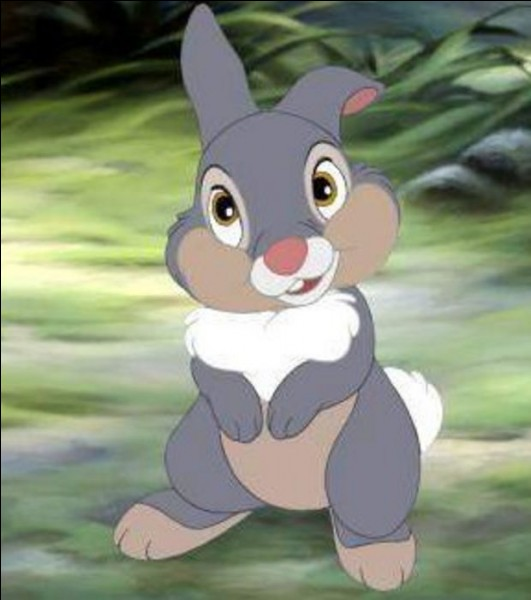 """Comment s'appelle ce personnage dans """"Bambi"""" ? (juillet 1947)"""