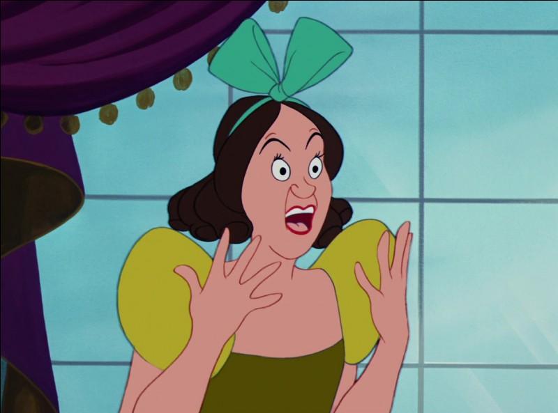 """Comment s'appelle ce personnage dans """"Cendrillon"""" ? (année 1950)"""