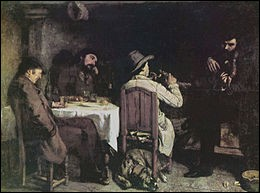"""Qui a peint """"L'Après-dînée à Ornans"""" ?"""