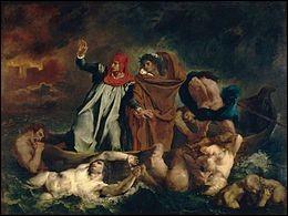 """Qui a peint """"La Barque de Dante"""" ?"""