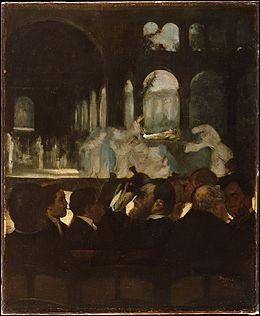 """Qui a peint """"Le Ballet de « Robert le Diable »"""" ?"""