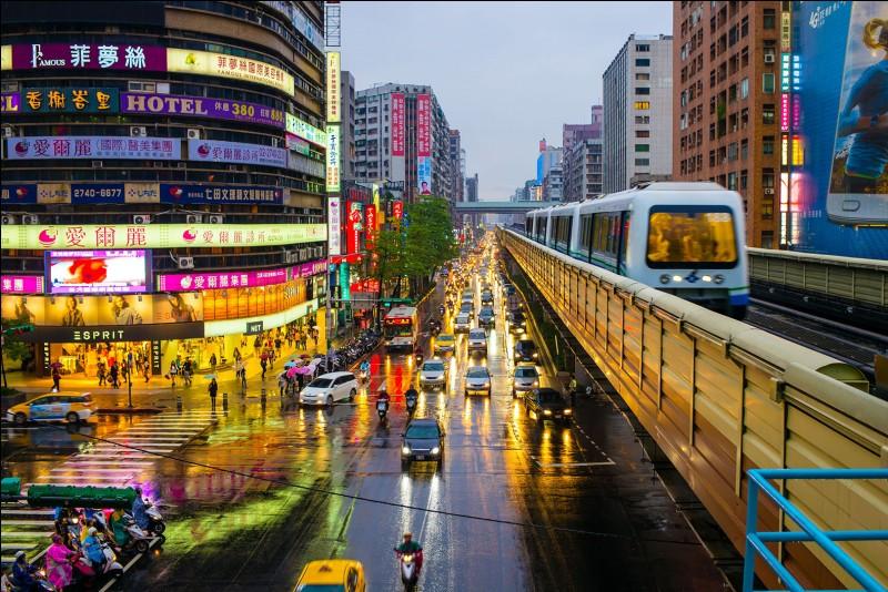 Allez-vous savoir où Taipei se trouve-t-elle ?