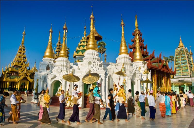 De quel pays Rangoun est-elle la capitale ?