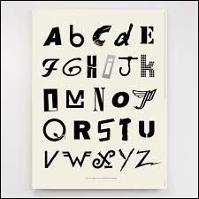 Choisis une lettre.