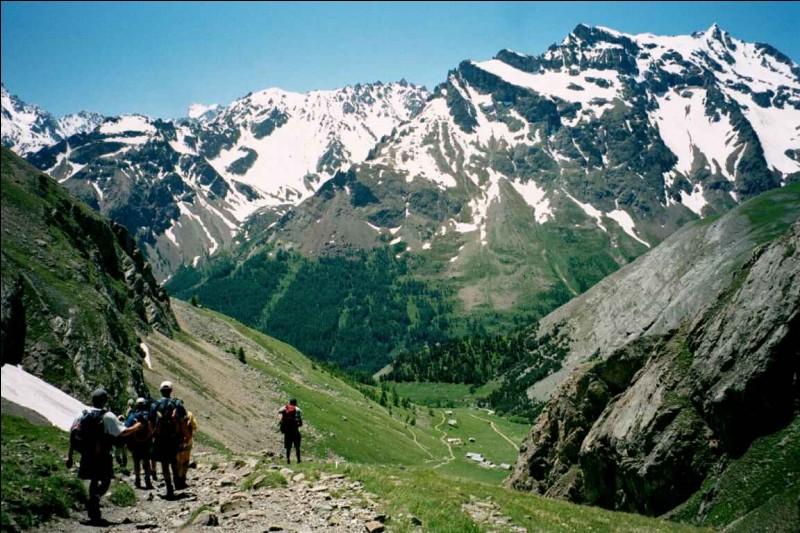 Dans quel État, le massif alpin n'est-il pas présent ?