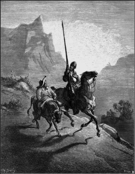 Il a illustré de grands auteurs de la littérature : Dante (l'Enfer), Shakespeare, Virgile... et une édition de Don Quichotte. Quel est le nom de cet illustrateur qui fut aussi peintre et sculpteur ?
