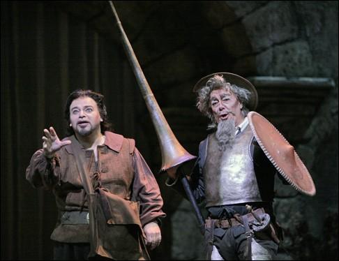 Connu pour ses opéras Manon ou Werther ce musicien composa, vers 1908, une œuvre qu'il nomma Don Quichotte. Le rôle de Don Quichotte fut l'une des réalisations les plus remarquables de la basse russe Fédor Chaliapine.