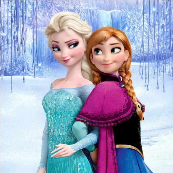 Pourquoi Elsa et Anna étaient séparées lorsqu'elles étaient petites ?