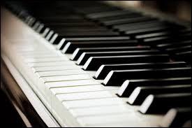 Sur les 88 touches que comporte un piano combien sont noires ?