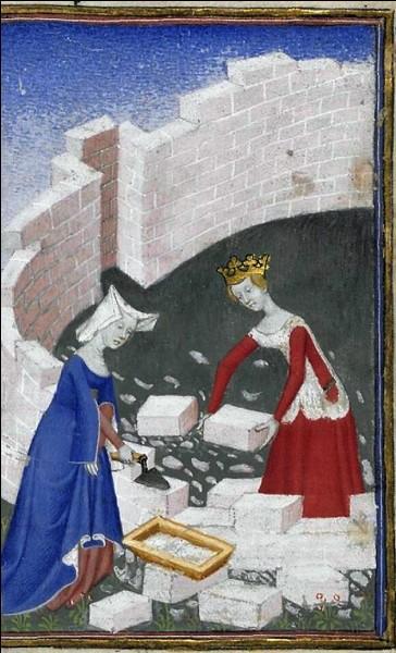 Cette miniature illustrant un ouvrage datant du XVème siècle montre que les femmes exerçaient tous les métiers. Quel est donc le métier de ces deux jeunes femmes ?
