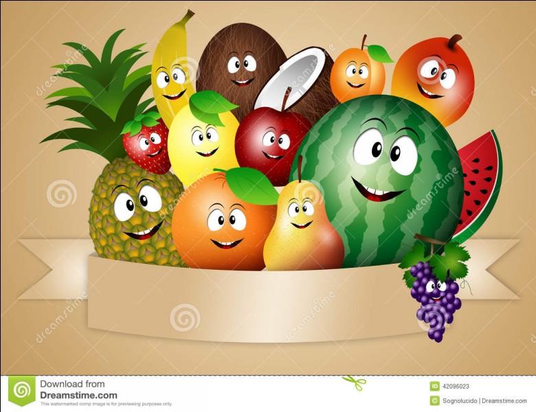 """Mais si vous l'avez bien réussi, je vous dis le mot """"hat"""" que ce fruit pourrait accompagner !"""