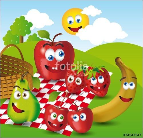 Trouvez l'astuce et répondez en anglais - Les fruits