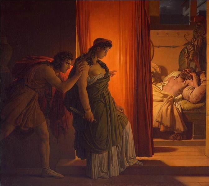 Pour avoir tué sa fille en la sacrifiant, cette reine assassina son époux le roi Agamemnon de retour de Troie. Qui est-elle ?