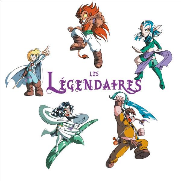 """Quels sont les noms des 5 Légendaires au début de la série """"Les Légendaires"""" ?"""