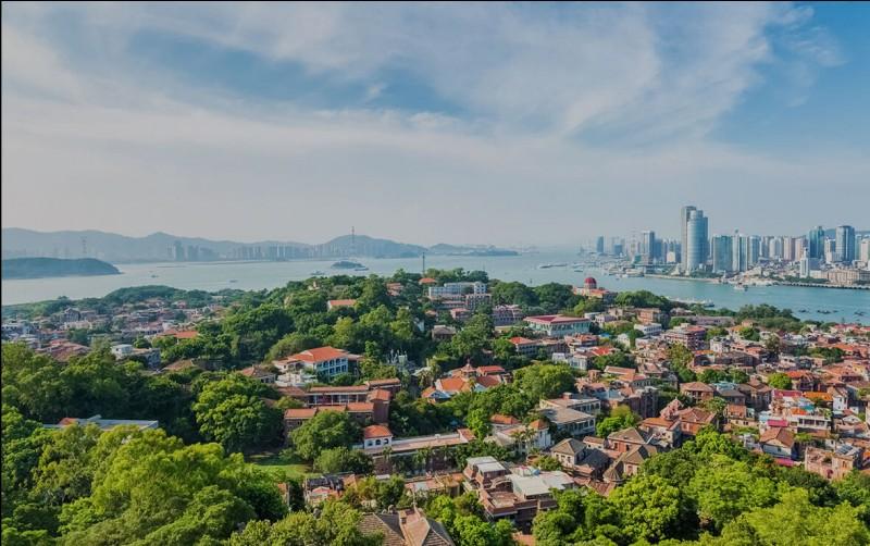Allez-vous trouver le pays de la ville nommée Xiamen.