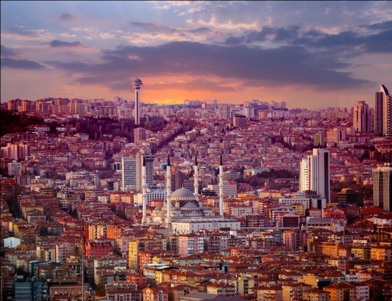 De quel pays Ankara est-elle la capitale ?