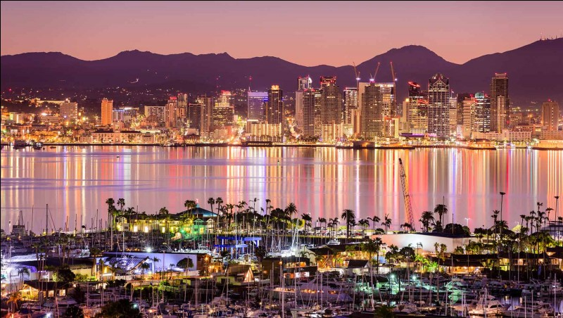 Où se situe San Diego ?