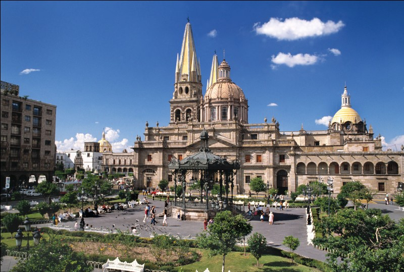 Où aurez-vous la chance de visiter Guadalajara ?