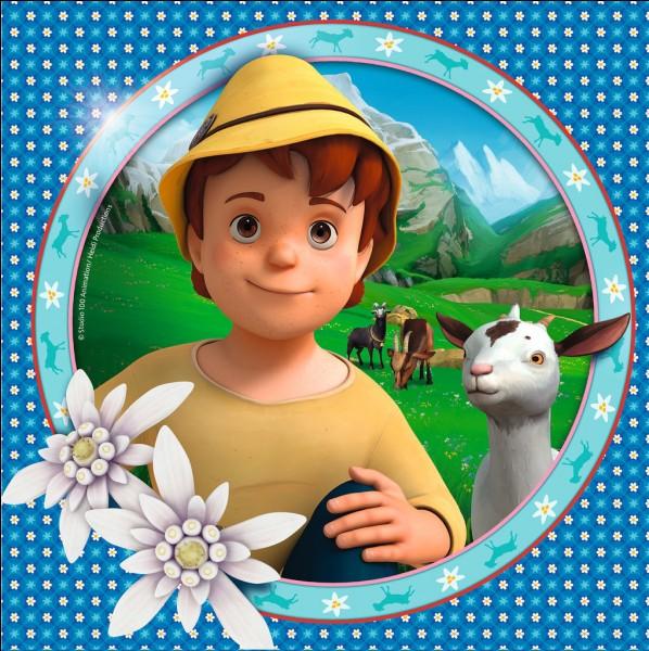 Comment s'appelle le meilleur ami de Heidi, qui est le petit gardien des chèvres ?
