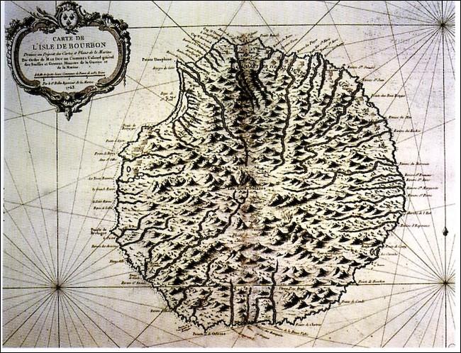 Comment fut baptisée l'île de La Réunion autrefois ?