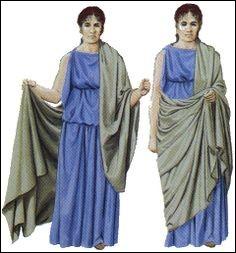 C'est un vêtement enveloppant porté durant l'Antiquité romaine.