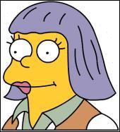 Comment s'appelle la femme du Chef Wiggum ?