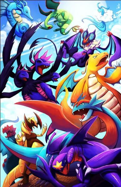 Quel Pokémon n'est pas de type dragon ?