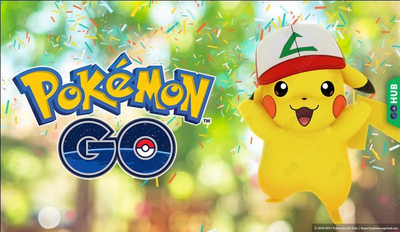 """Quel Pokémon est sur l'image de chargement du jeu """"Pokémon Go"""" ?"""