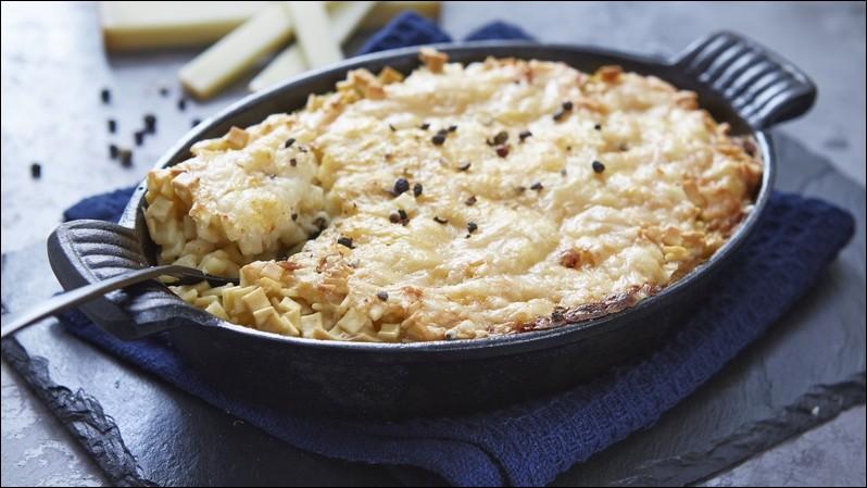 Voici un gratin de pâtes au sarrasin, ce sont :