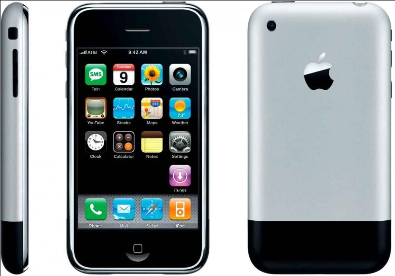 Quand a été présenté l'Iphone 2G ?