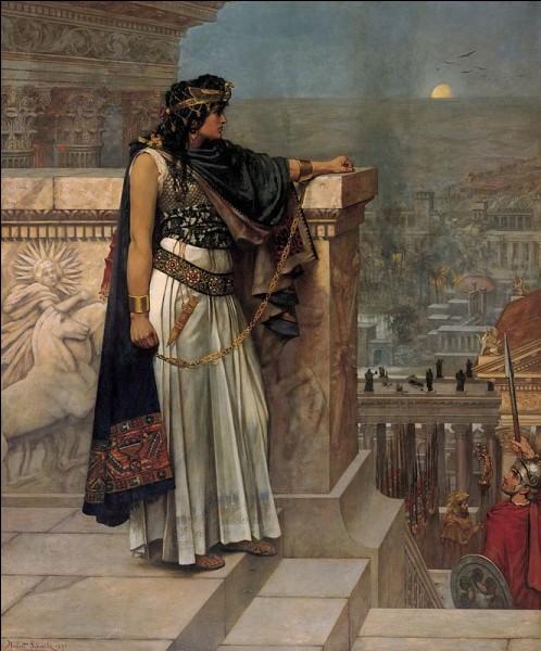 À partir de la mort de Valérien en 260, de nombreux généraux appelés les trente tyrans se proclament empereurs dans les quatre coins de l'empire. Parmi eux, Zénobie, qui dirige...