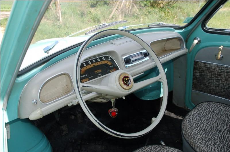 C'est celui d'une Renault ...