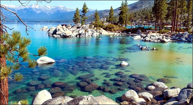 Où se trouve le lac Tahoe ?
