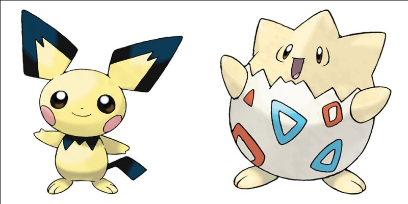 Quel est le nom du Pokémon de droite ?