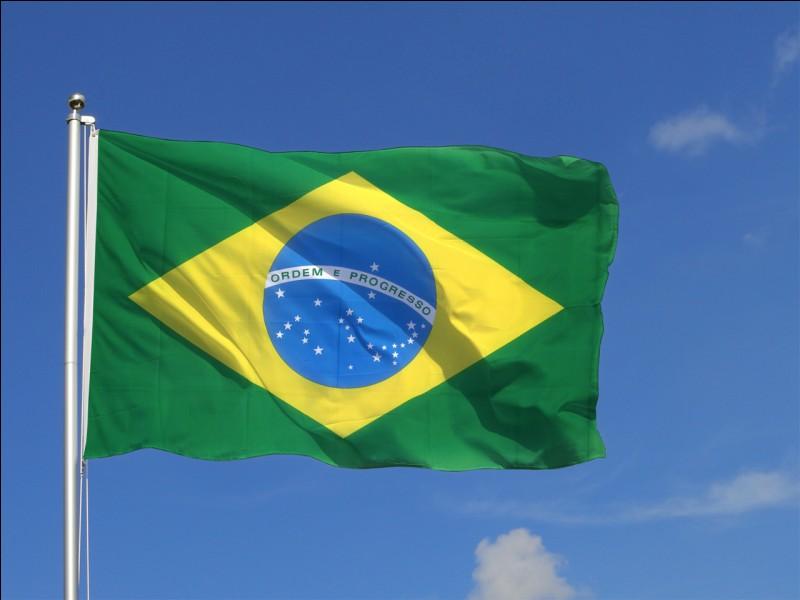 Sur quel continent est situé le Brésil ?