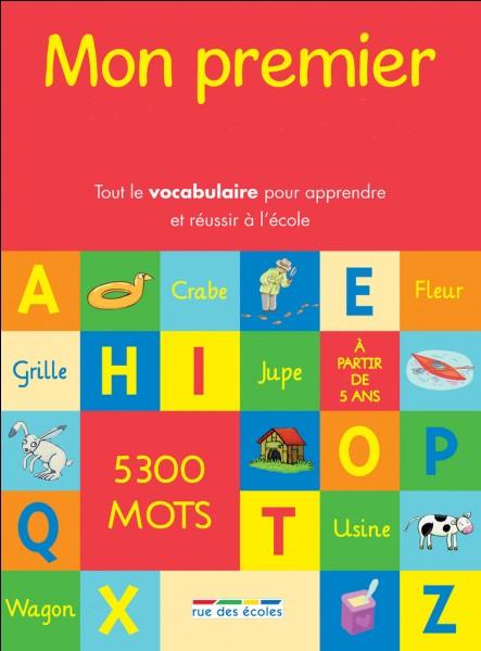 Dans quel livre trouve-t-on la définition d'un mot ?