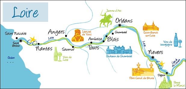 Dans quel océan se jette le fleuve français, la Loire ?