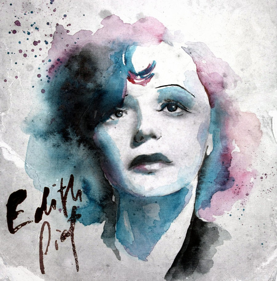 Édith Piaf ou Barbara. - (3)