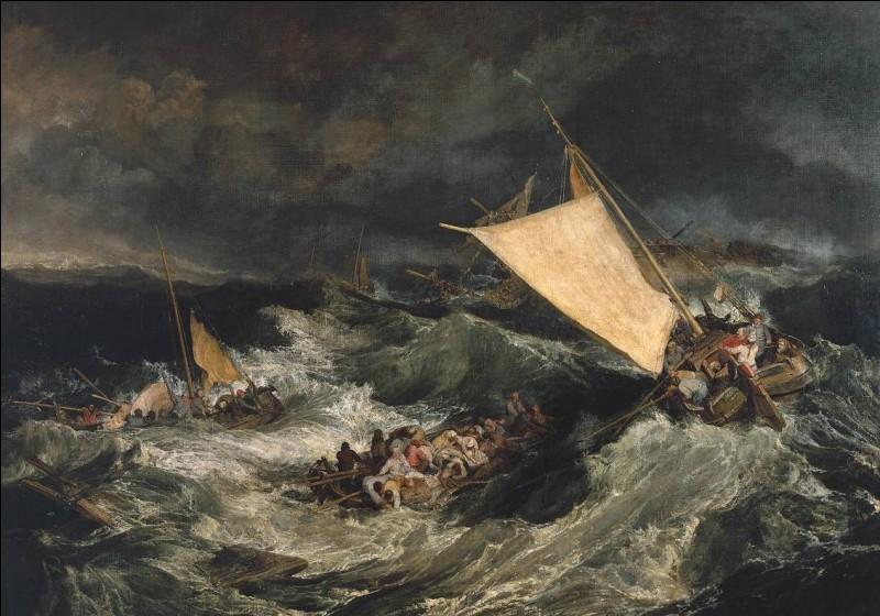 À quelle date a fait naufrage le bateau sur lequel voyageait Robinson ?