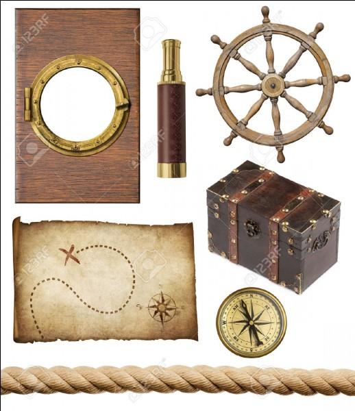Après un certain temps, Robinson rapporte sur l'île de nombreux objets. Coche-les dans la liste suivante.