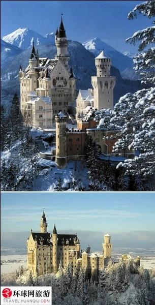 """Dans quel pays est situé le château que nous traduirons en français par """"château du nouveau rocher du Cygne"""" ?"""