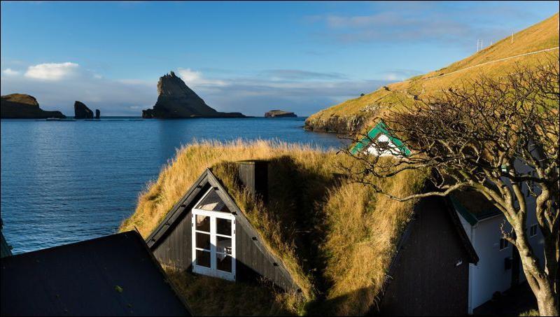 Dans quelles eaux sont situées les îles Féroé ?