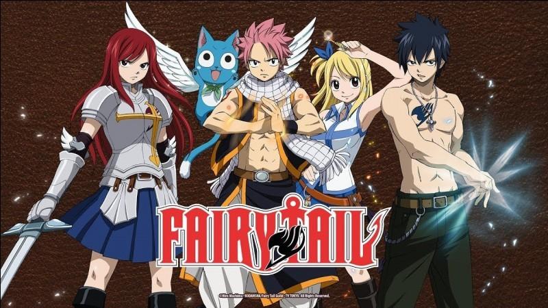 Quel personnage de 'Fairy Tail' es-tu ?