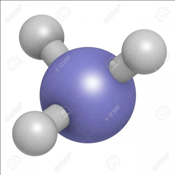 Quand je désigne la solution aqueuse de ce composé, il faut écrire ammoniaque mais si on parle de ma forme gazeuse, il faut écrire...
