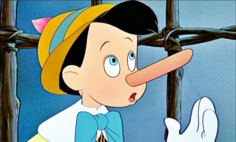 Pourquoi le nez de Pinocchio s'allonge-t-il ?