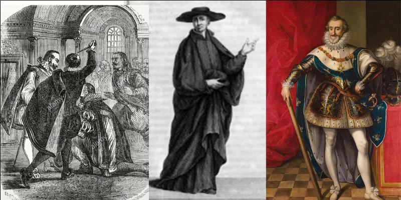 Nous sommes à Paris en 1594.Daniel Auteuil l'interpréta dans le film « La reine Margot » de Patrice Chéreau.Jean Châtel vient de commettre une tentative d'assassinat contre le roi Henri IV. Le roi ne sera que légèrement blessé. Par contre, Jean Châtel sera écartelé ! Mais, il y aura une autre condamnation.Quelle est-elle ?
