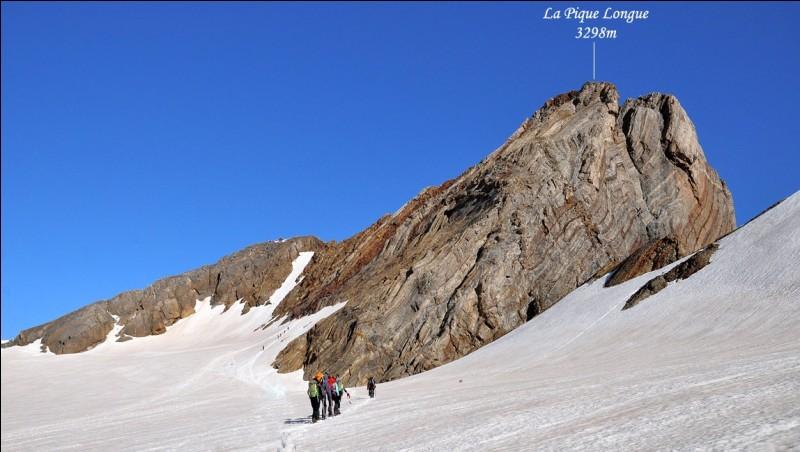 À quel massif montagneux appartient le Vignemale, dominant à 3 298 mètres ?