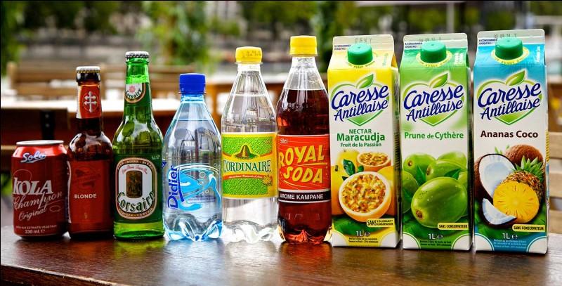 Quels types de boissons préférez-vous ?